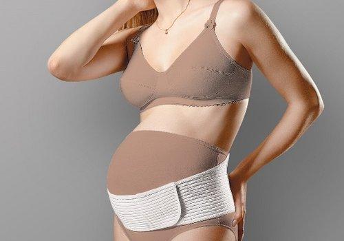 Когда начинать носить бандаж для беременны
