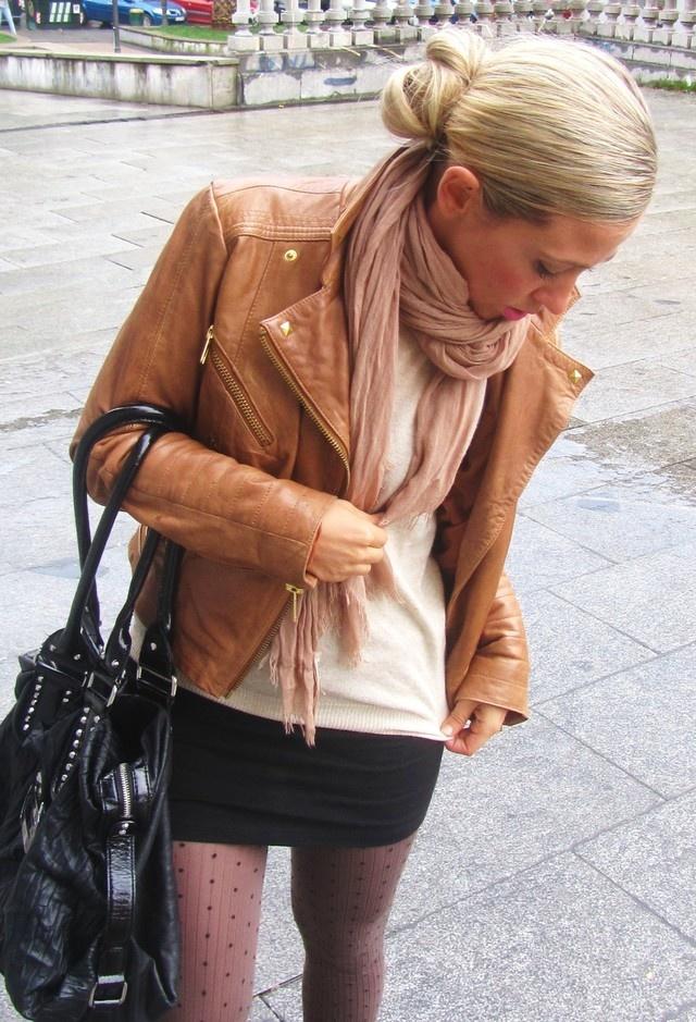 Красотки в кожаных куртках