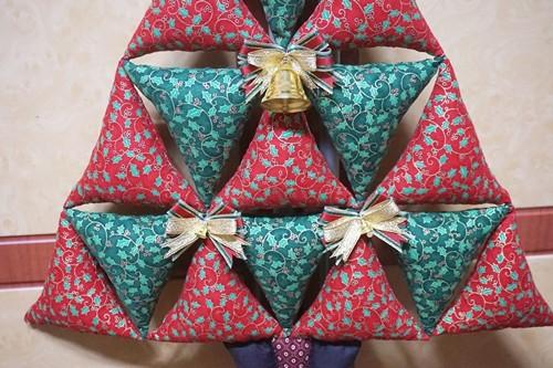 Делаем мягкую игрушку в виде новогодней елки