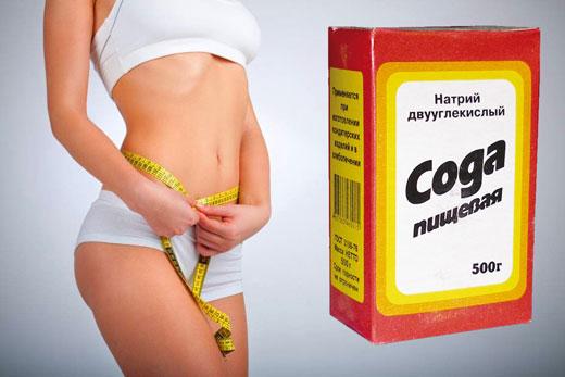 Как похудеть з содой