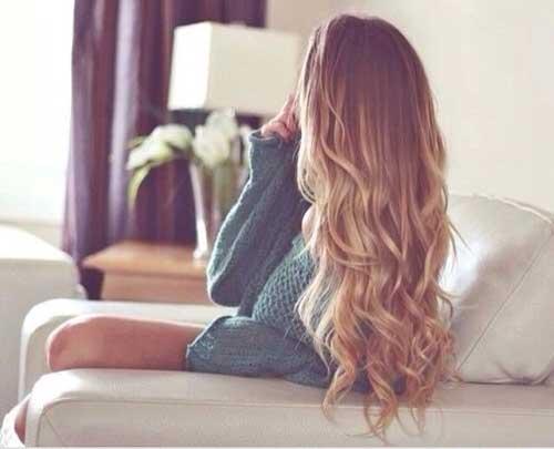 Модная окраска волос в стиле омбре: классический образ для шатенок и не только