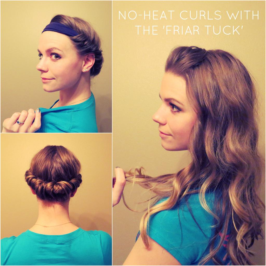 Как сделать волнистыми волосы за ночь