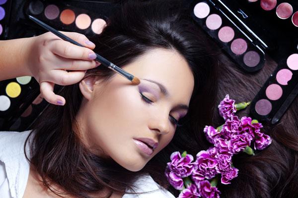 Как красить глаза синие Профессиональная косметика ВОССТАНОВЛЕНИЕ ЗРЕНИЯ