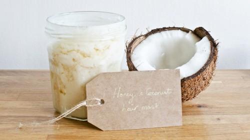 Маска для волос кокосовое масло и мед