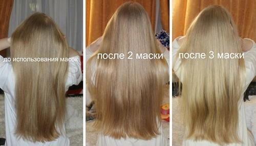 Маска с кефиром и мёдом для волос