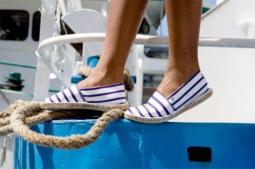 Летние модные обувь