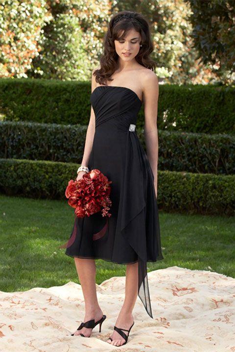 Можно ли на свадьбу идти в черном платье