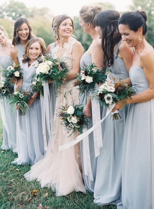 Примеры платьев на свадьбу