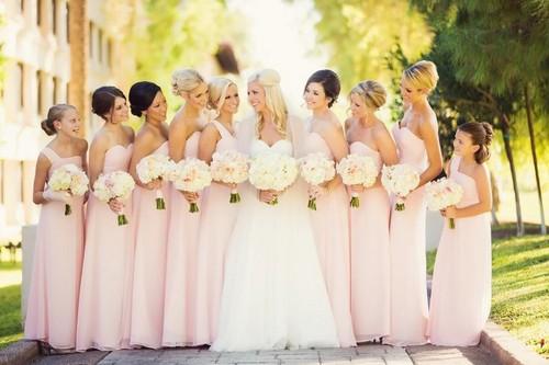 Невеста и подружки невесты