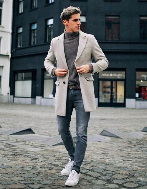 Унисекс пальто