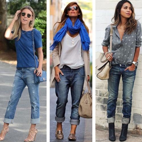 Модные джинсы: 6 способов стильных подворотов - FashionTime 96