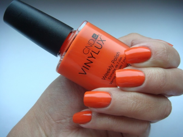 Лак для ногтей морковный
