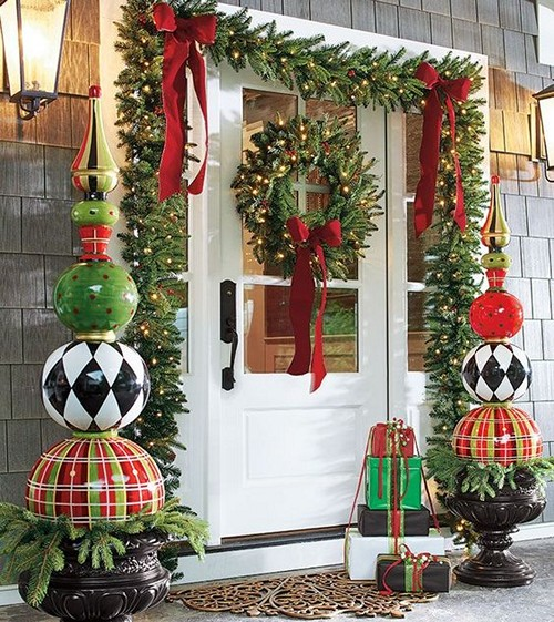 Хорошие идеи как украсить красиво квартиру к новому году